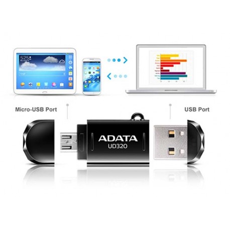 Adata DashDrive Durable UD320 USB Flash Drive 64GB