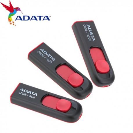 Adata C008 Capless Sliding USB Flash Drive 32GB