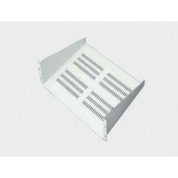 "Abba 19"" Cantilever Shelf depth 500mm 3U (AR-CS3-500-G/B)"