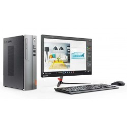 "Lenovo IdeaCentre IC510S 08IKL PC AIO Intel Core i3-7100, 4GB, 1TB , 21.5"" W LCD, DOS."