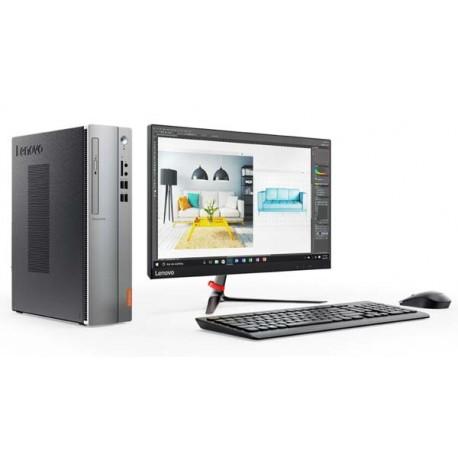 "Lenovo IdeaCentre IC510S 08IKL PC AIO Intel Core i3-7100, 4GB, 1TB , 21.5"" W LCD, DOS."