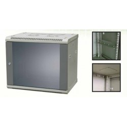 """Litech 19"""" WCB Wallmount Rack 15U Depth 600 Single Door"""