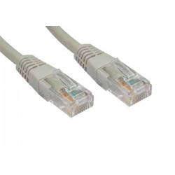 Litech Patchcord UTP Cat6-1M (Grey)