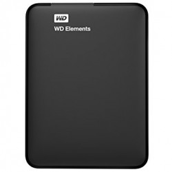 WD 500GB Elements Portable External Hard Drive USB 3.0 (WDBUZG5000ABK)