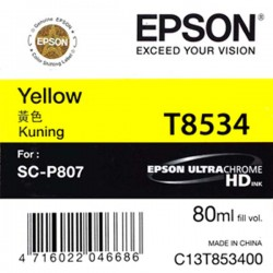 Epson SC-P807 Ink T8534 (Yellow)