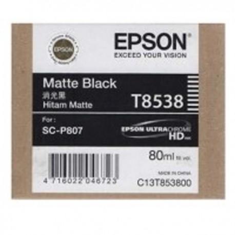 Epson SC-P807 T8538 Matte Black Ink Cartridge 80ml