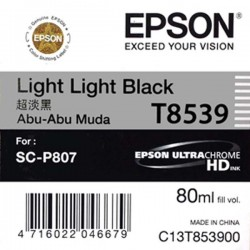 Epson SC-P807 T8539 Light Light Black Ink Cartridge 80ml
