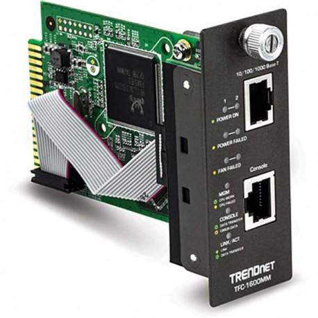TRENDnet TFC-1600MM SNMP Management Module