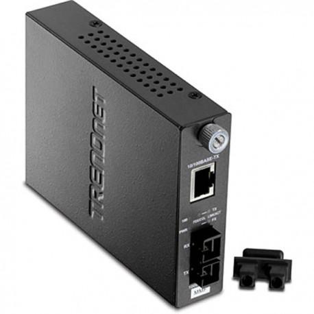 TRENDnet TFC-110MSC 100Base-TX to 100Base-FX Multi Mode SC Fiber Converter