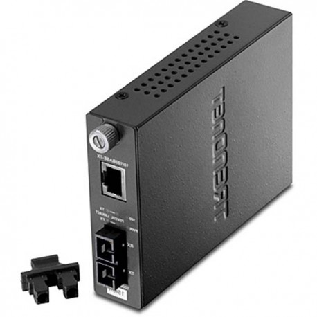 TRENDnet TFC-110S15 Intelligent 10/100Base-TX to 100Base-FX Single Mode SC Fiber Converter