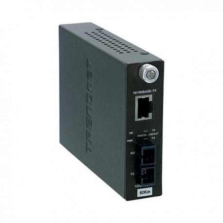 TRENDnet TFC-110S60 10/100Base-TX to 100Base-FX Single Mode Fiber Converter (60KM)