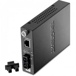 TRENDnet TFC-110S100 Fiber Converter (100KM)