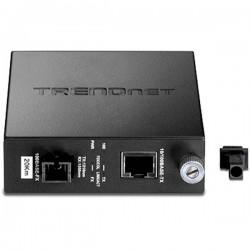 TRENDnet TFC-110S20D3 Dual Wavelength SM SC Fiber Converter TX1310 (20KM)