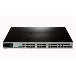 D-Link DGS-3620-28TC/ESI xStack Gigabit L3 Stackable Managed Switches