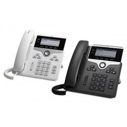Cisco CP-7821-K9 Two-Line IP Phone (Charcoal)