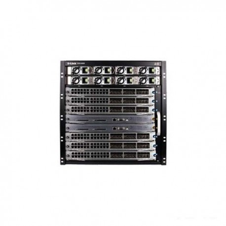 D-LINK DGS-6008-SK-48T 8-Slot Chassis-Based Managed Switch Starter Kit