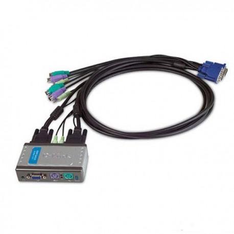 Dlink KVM-121/E 2-Port PS/2 KVM Switch with Audio