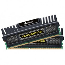 Corsair Vengeance 8 GB (2 x 4 GB) DDR3 1600 MHz PC3 12800 240-Pin DDR3 Dual Channel Memory Kit 1.5V (CMZ8GX3M2A1600C9)