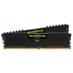 Corsair Vengeance LPX 16GB (2x8GB) DDR4 DRAM 2666MHz (PC4 21300) C16 Desktop Memory Kit Black (CMK16GX4M2A2666C16)