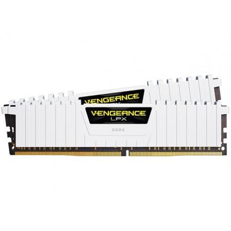 Corsair Vengeance LPX 16GB (2x8GB) DDR4 2666 MHz C16 XMP 2.0 High Performance Desktop Memory Kit - White (CMK16GX4M2A2666C16W)