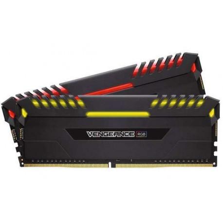 Corsair Vengeance RGB 16GB (2x8GB) DDR4 3200 (PC4-25600) C16 Memory (CMR16GX4M2C3200C16)