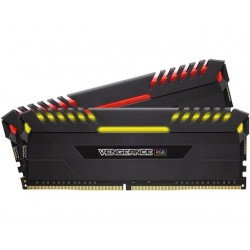 Corsair Vengeance RGB 16GB (2x 8GB) DDR4 3466 MHz C16 XMP 2.0 RGB LED Memory Kit Black (CMR16GX4M2C3466C16)