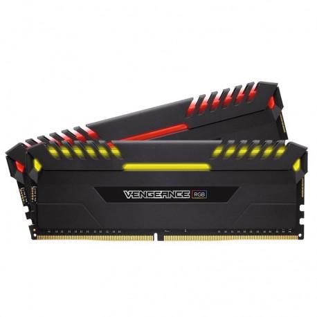 Corsair Vengeance RGB 16GB DDR4 3600 (PC4-28800) C18 Desktop Memory (CMR16GX4M2C3600C18)