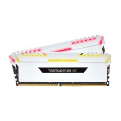 Corsair Vengeance RGB 32GB DDR4 3200 (PC4-25600) C16 Desktop Memory (CMR32GX4M2C3200C16W)
