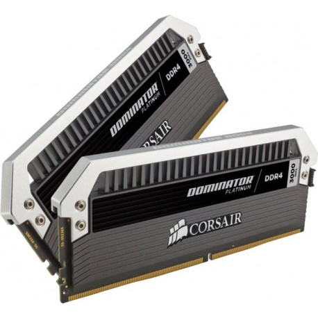 Corsair Dominator Platinum Series 16GB (2x8GB) DDR4 DRAM 3000MHz C15 Desktop Memory Kit (CMD16GX4M2B3000C15)