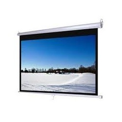 "I-Bright BMR200-D Motorized Screen 200"" Diagonal / 406x305 cm."