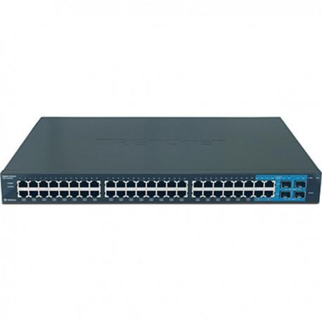 Trendnet TEG-448WS 48-Port Gigabit Web Smart Switch w/ 4 Shared Mini-GBIC Slots