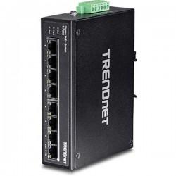 Trendnet TI-PG80 8-Port Hardened Industrial Gigabit PoE+ DIN-Rail Switch