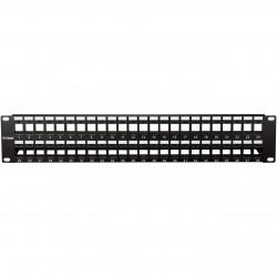 D-LINK NPP-AL1BLK481 Patch Panel UTP Keystone 48 Port Unloaded