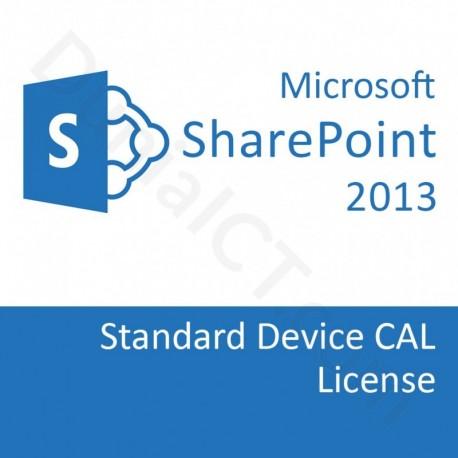MICROSOFT SharePoint Server 2013 Standard Device CAL