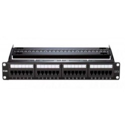 D-Link NPP-C61BLK241 24 Port Cat6 UTP Fully -Black Color