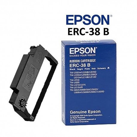 Epson ERC-38B Black Ribbon Cartridge