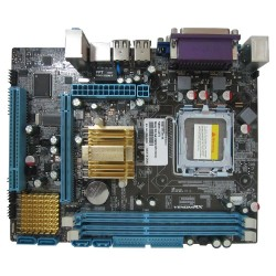 VenomRX DDR3 Motherboard G41 Intel Chipset  Sata  3Gb/s Gigabit LAN