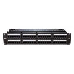 D-Link Patch Panel Cat5e UTP Keystone Type 48 Port [NPP-5E1BLK481]