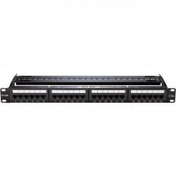 D-LINK NPP-5E1BLK241 Patch Panel CAT5e UTP Keystone 24 Port Fully Loaded