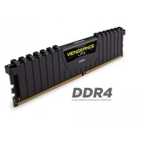 Corsair Vengeance LPX (1x4GB) DDR4 DRAM 2400MHz C14 Memory Kit-Black (CMK4GX4M1A2400C14)