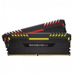 Corsair Vengeance RGB 16GB (2 x 8GB) DDR4 Dram 3000MHz C15 Memory Kit (CMR16GX4M2C3000C15)