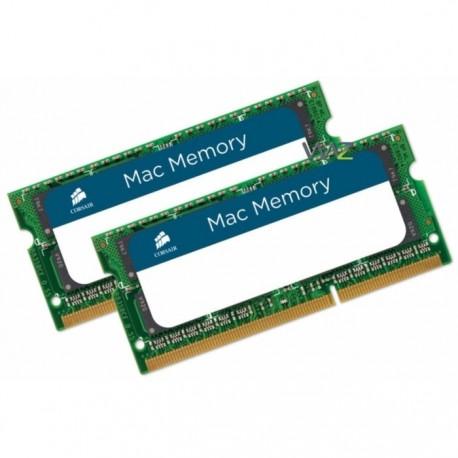 Corsair  CMSA16GX3M2C1866C11 Mac Memory - 16GB (2 x 8GB) DDR3L SODIMM 1866MHz C11 Memory Kit