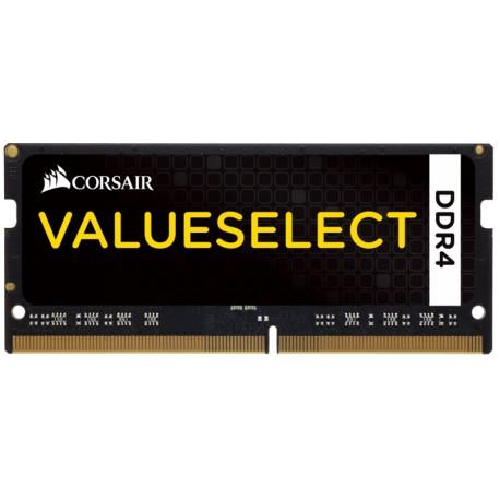 Corsair CMSO4GX4M1A2133C15 Memory 4GB (1x4GB) DDR4 SODIMM 2133MHz C15 Memory Kit