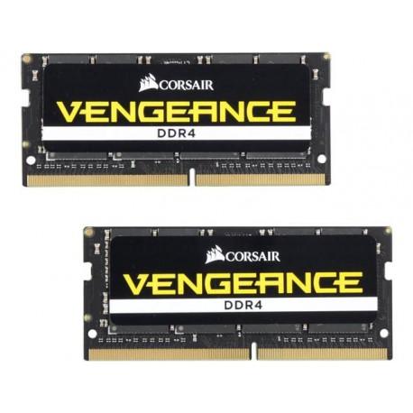 Corsair CMSX32GX4M2A2400C16 Vengeance Series 32GB (2x16GB) DDR4 SODIMM 2400MHz CL16 Memory Kit
