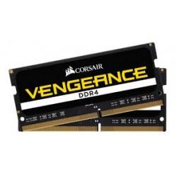 Corsair CMSX32GX4M2A2666C18 Vengeance Series 32GB (2x16GB) DDR4 SODIMM 2666MHz CL18 Memory Kit