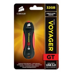 Corsair CMFVYGT3B-32GB Flash Voyager GT USB 3.0 32GB Flash Drive