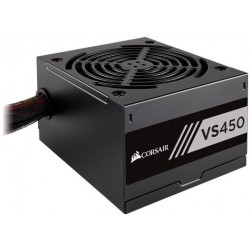 Corsair  CP-9020170-EU VS Series VS450 - 450 Watt 80 PLUS  White Certified PSU (EU)