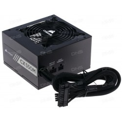 Corsair CP-9020102-NA CX Series CX550M - 550 Watt 80 PLUS Bronze Certified Modular ATX PSU (2015 Edition)