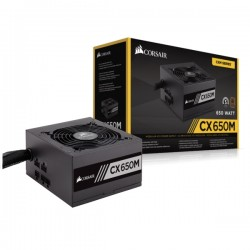 Corsair CP-9020103-EU CX Series CX650M-650 Watt 80 PLUS Bronze Certified Modular ATX PSU (2015 Edition)