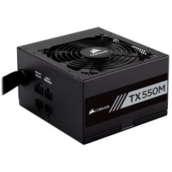 Corsair CP-9020133-EU TX-M Series TX550M - 550 Watt 80 Plus Gold Certified PSU (EU)